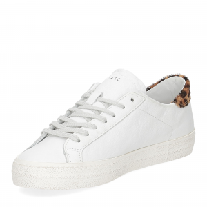 D.A.T.E. Hill Low animalier white-4