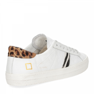 D.A.T.E. Hill Low animalier white-5