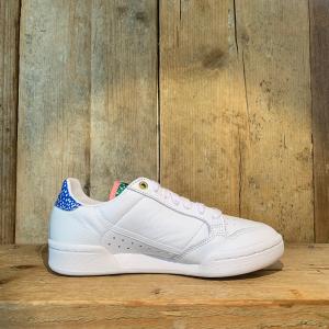 Scarpa Adidas Continental 80 W Bianca Con Dettagli Colorati