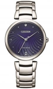 Citizen Lady L collection, quadrante blu