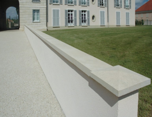Imer coprimuro evolutione in cemento levigato bianco 27cm(larghezza interna)x100cm
