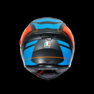 Casco AGV K5 S Core Black/Blue/Orange