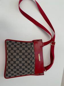 Borsa Gucci tracolla Rossa L 22 h 25 Originale (disponibile Solo Online)