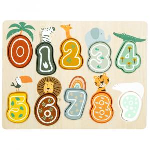 Puzzle Numeri Safari