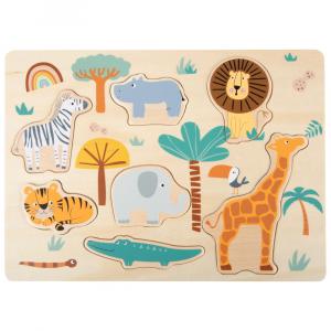 Puzzle ad incastro Safari