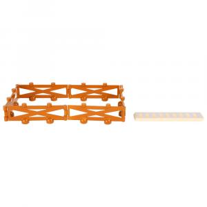 Fattoria con accessori Accessori trenino legno Small Foot World