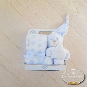 Copertina Culla con peluches con orsetto dormiglione