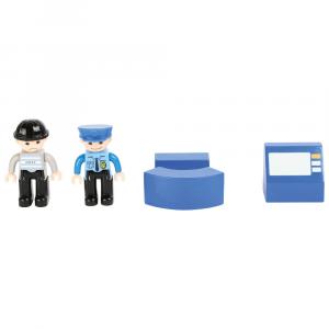 Caserma di polizia Accessori trenino legno Small Foot World