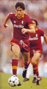1983-84 As Roma Pantaloncini Home M (Top)