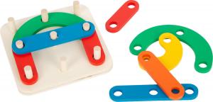 Gioco didattico Puzzle ad incastro Lettere e numeri