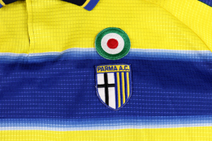 1999-00 Parma Maglia Home #17 Cannavaro XL (Top)