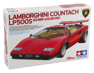 Lamborghini Countach LP500S 1/24 scale Model Kit
