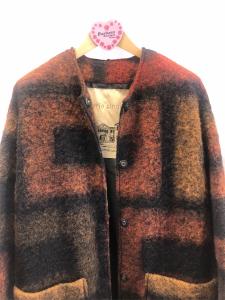 Maxi cappotto ceck
