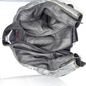 Giacca Da Moto Uomo Dainese Nera In Pelle, Taglia 50 Pantalone mtech 52 Giacca dainese