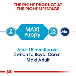 ROYAL CANIN MAXI PUPPY BUSTE 140gr