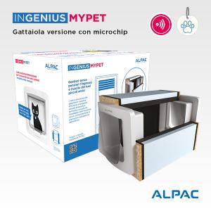 INGENIUS MYPET gattaiola con Microchip