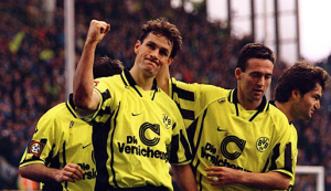 1996-97 Borussia Dortmund Maglia Home M