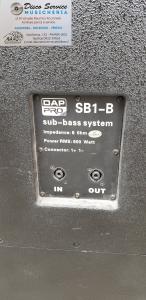 SUB DAP AUDIO SB1-B PASSIVO USATO