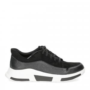 Fitflop Freya suede sneakers black-2