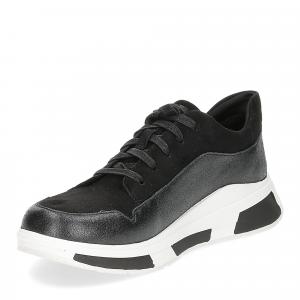 Fitflop Freya suede sneakers black-4