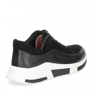 Fitflop Freya suede sneakers black-5