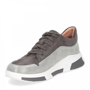 Fitflop Freya suede sneakers grey-4