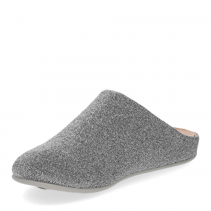 Fitflop Chrissie glitzy slippers pewter-4