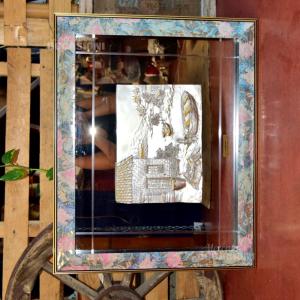 Quadro I Preziosi By Creazione Berna Icona Paesaggio Lago 57x70cm