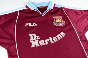 1999-01 West Ham Maglia Home M (Top)