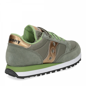 Saucony Jazz Original olive gold-5