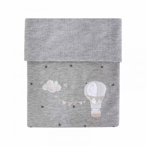 Copertina culla in felpa collezione Aria by Picci | Autunno Inverno