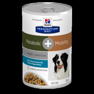 Hill's - Prescription Diet Canine - Metabolic+Mobility Stew - 354g x 12 lattine