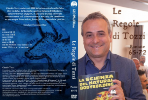 Le Regole di Tozzi - GeoPaleoDiet Show. DVD Video doppio - Puntate 65-72