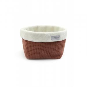 Beauty case Cestino porta oggetti Store Bag Soft Stone Brick