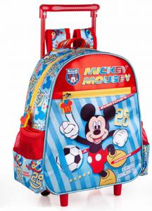 Zaino Asilo con Trolley Topolino Disney 2 Ruote Manico ALLUNGABILE-34216C