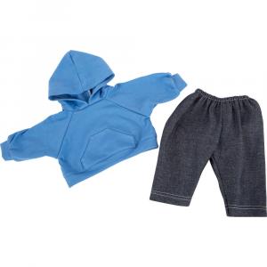 Abbigliamento per bambole Felpa con cappuccio e pantaloni