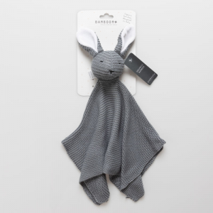 Doudou Bamboom Coniglietto Dark grey