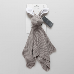 Doudou Bamboom Coniglietto Warm grey
