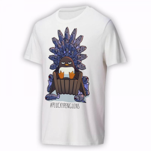 Plucky Penguins t-shirt - Game of Fish