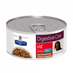 Hill's - Prescription Diet Canine - i/d Stress Mini Stew - 156g x 12 lattine
