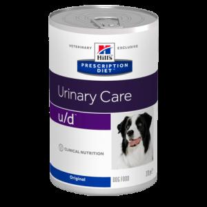 Hill's - Prescription Diet Canine - u/d - 370g x 12 lattine
