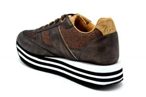 Sneaker platform con dettagli Geo
