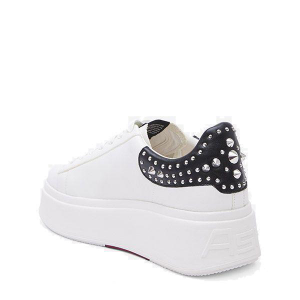 Sneakers Mobystuds nappa white - ASH