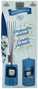 Profumatore ambiente + candela profumata Sweet Home