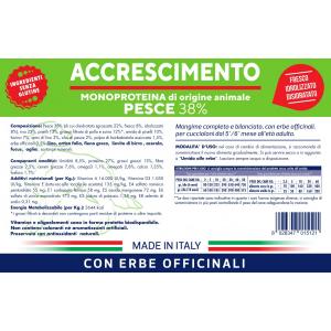 VET LINE ACCRESCIMENTO PESCE - MONOPROTEICO