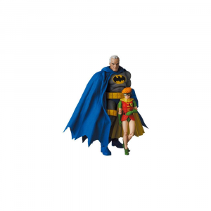 *PREORDER* The Dark Knight Returns MAF EX Action Figures: Batman & Robin - ver. Blue