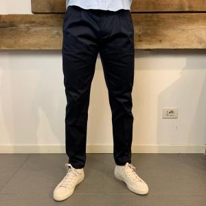 Pantalone Uomo Department 5 Prince con Pences Blu Navy