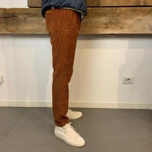 Pantalone Department 5 Prince Denim in Velluto a Costine Ruggine