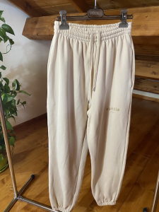 Pantaloni In felpa Vicolo Vanilla  Dusty Rose e Amethyst e Graphite