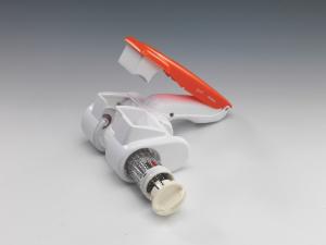 Ariete 440 grattugia elettrica Arancione, Bianco